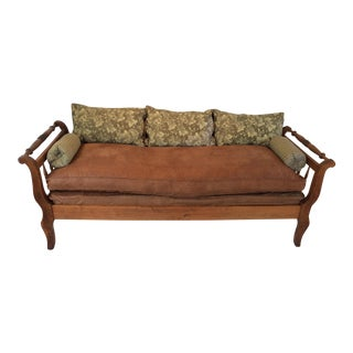 American Empire Walnut Daybed