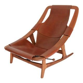 Arne F. Tidemand Ruud Danish Modern Holmenkollen Lounge Chair