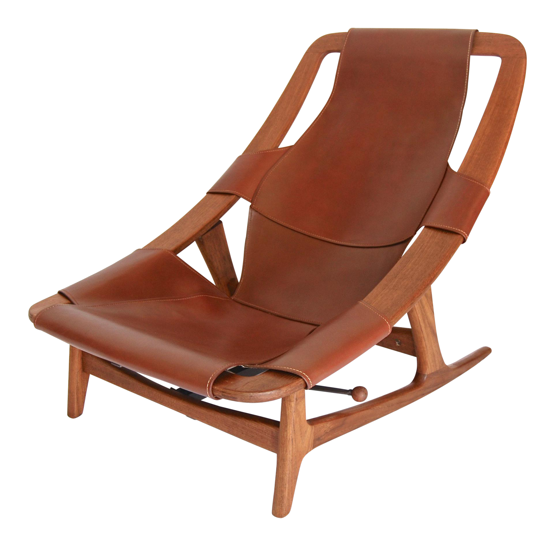 Arne F. Tidemand Ruud Danish Modern Holmenkollen Lounge Chair