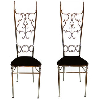 Chiavari Chairs - Pair