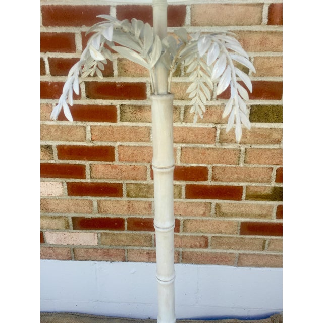 1930s Dripping Fern & Bamboo Lamp - Image 4 of 5