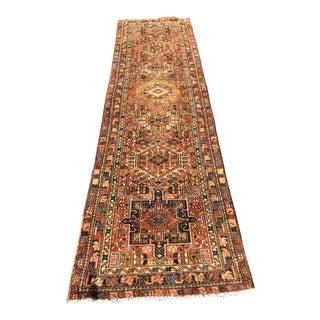 Vintage Persian Karajeh Runner - 3′ × 10′10″