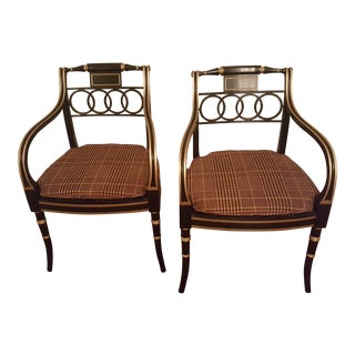 Historic Charleston Governor Alston Chairs - Pair