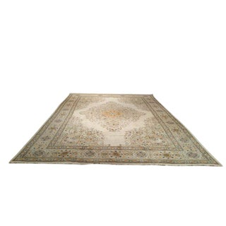 11' X 16' Persian Tabriz Hand Made Knotted Rug - Size Cat. 10x14 12x15 12x16