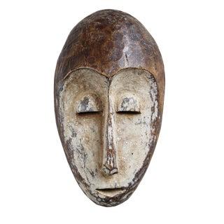Lega Tribal Wood Mask