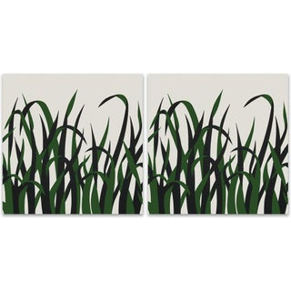 1973 Supergraphic Grasses Print Set - 2