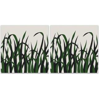 1973 Supergraphic Grasses Print Set - 2