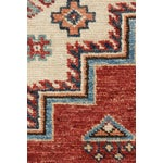"""Image of Kazak Hand Knotted Area Rug - 5' X 6'10"""""""