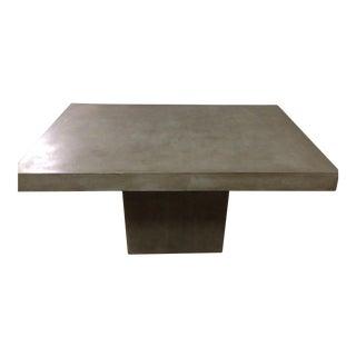 CB2 Fuze Concrete Dining Table