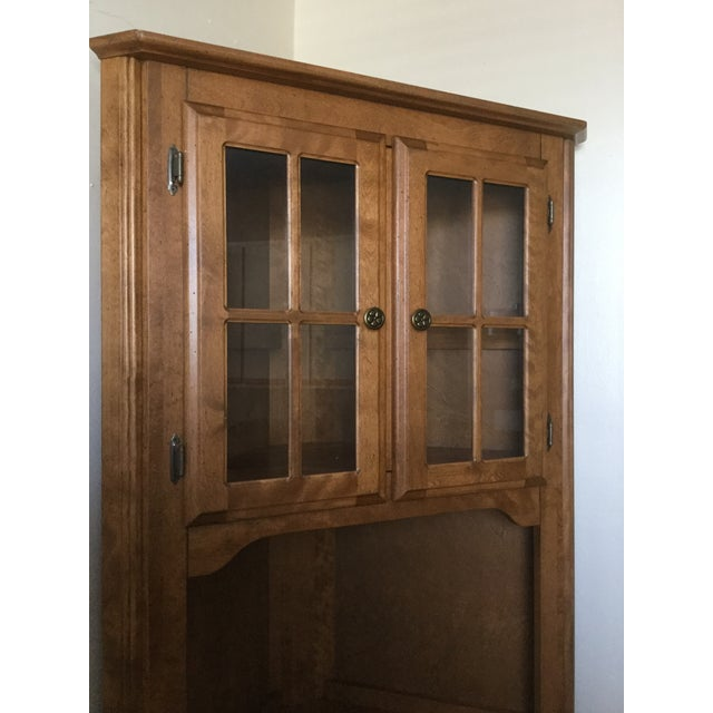 Canadel Solid Birch Kitchen Corner Hutch - Image 3 of 8