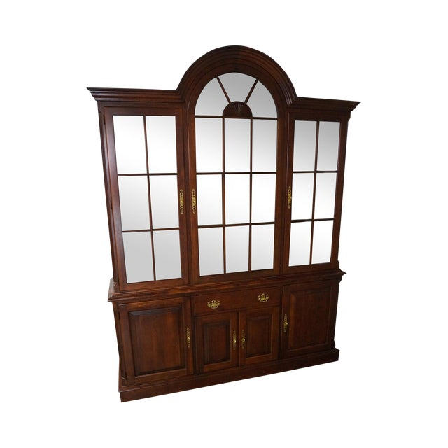Used Kitchen Cabinets Pa: Pennsylvania House Traditional Cherry Wood China Cabinet