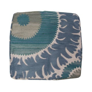 Vintage Blue Velvet Pillow Sham