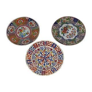 Japanese Imari Plates - Set of 3