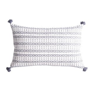 Mexican Slate Handwoven Pillow