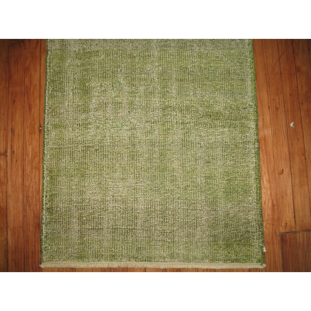 Image of Green Over-dye Turkish Runner