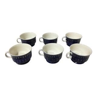 Arabia Finland Ceramic Mugs - Set of 6