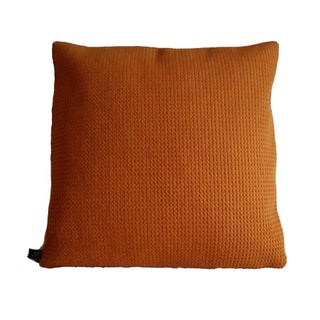 Knoll Cato Orange Wool Pillow Cover