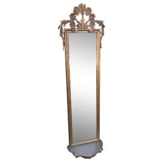 Vintage Gilded Gold Italian Rocco Mirror