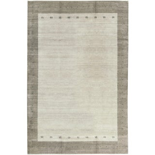 Contemporary Hand Loomed Wool Rug - 9'9 X 13'9