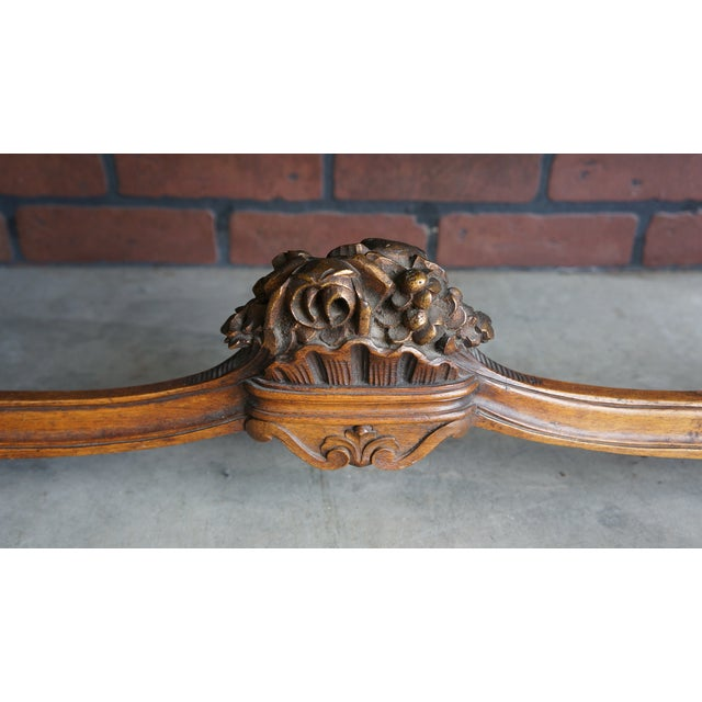 Antique French Provincial Bench - Image 5 of 9