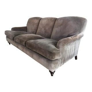 Cotton Velvet Upholstered Rudin Sofa