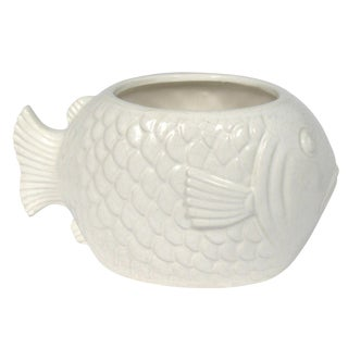 Vintage Japanese Fish Planter