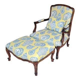 French Country Chaise Brisee'