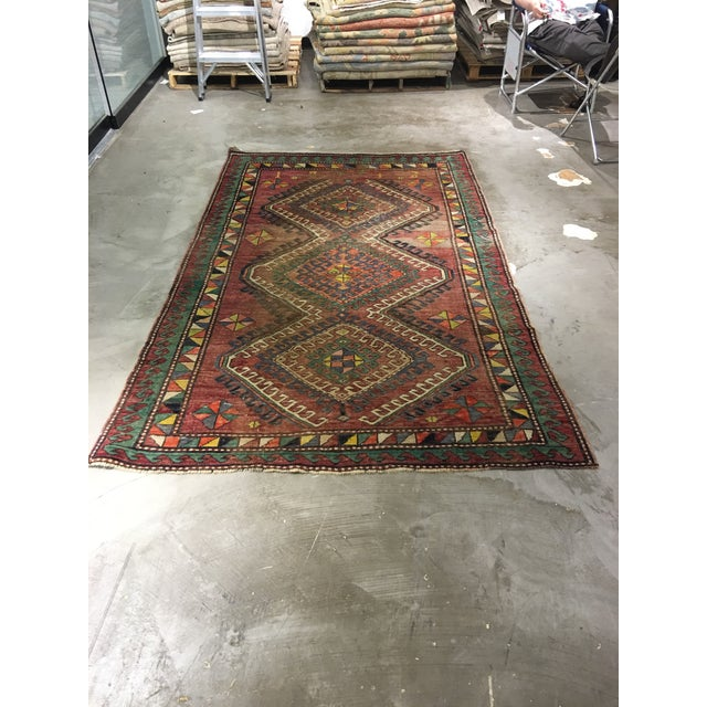 "Vintage Bellwether Rugs Turkish Oushak Rug - 5' x 9'3"" - Image 2 of 10"