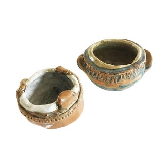 Studio Pottery Small Bowls - A Pair