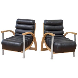 Jay Spectre for Century Eclipse Club Chairs - A Pair