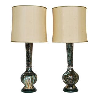 20 Century Indo-Persian Table Lamps- A Pair