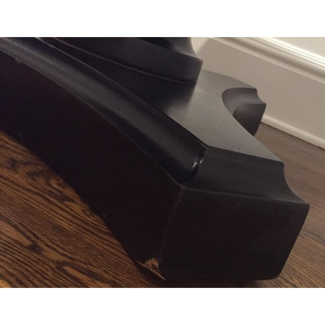 Ralph Lauren Pedestal Side Table - Image 6 of 7