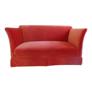 Holly Hunt Velvet Fabric Sofa
