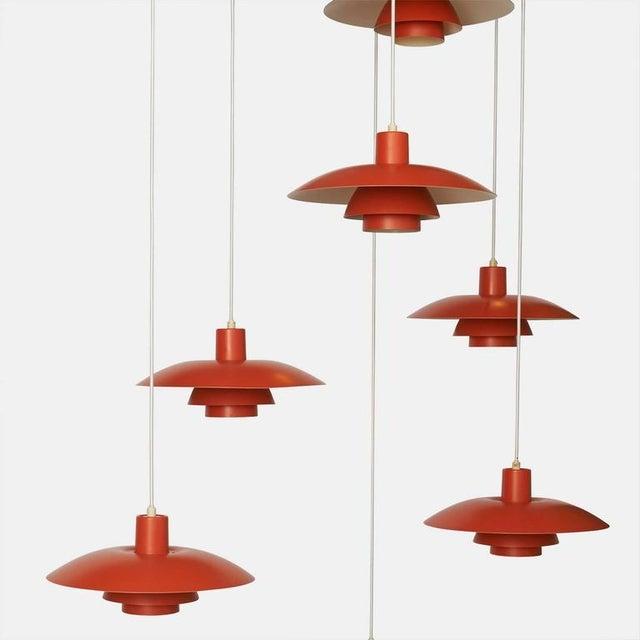 Image of Orange Pendant Ph-4/3 by Poul Henningsen