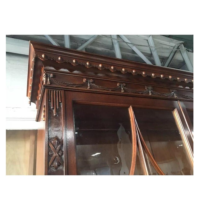 Baker Chinese Chippendale Bookcase - Image 6 of 6