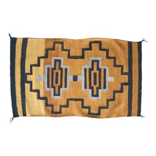 """Vintage Navajo Rug flatweave - 2'5""""x4'2"""""""