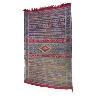 """Moroccan Multicolor Berber Rug - 2'6"""" X 3'10"""""""