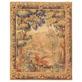 """Pasargad Tapestry Silk & Wool Rug- 5' 5"""" X 6' 6"""""""
