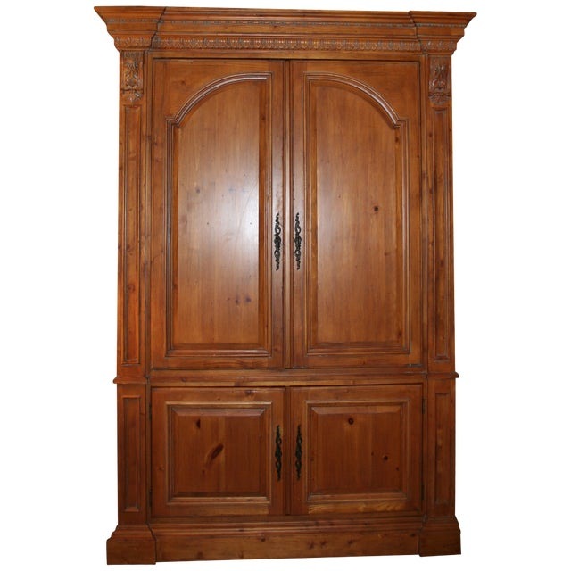 Ethan allen armoire chairish for Armoire new york city