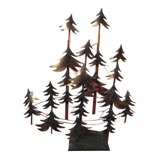 Curtis Jere Forest Wall Sculpture