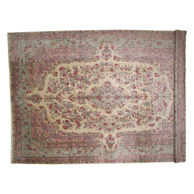 "Leon Banilivi Lavar Kerman Carpet - 9'7"" X 14'4"" - Image 1 of 6"