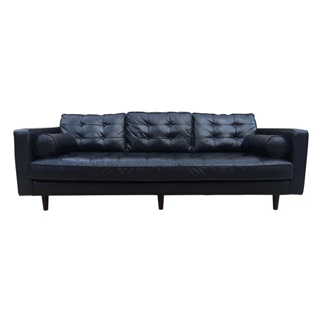 Four Hands Harper 89 Leather Sofa Chairish