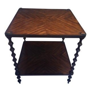 "Theodore Alexander ""Bobbin"" Side Table"