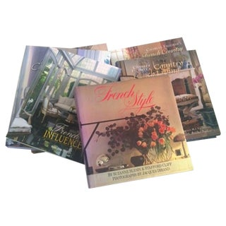 Full Color French Decor Books - Set of 6