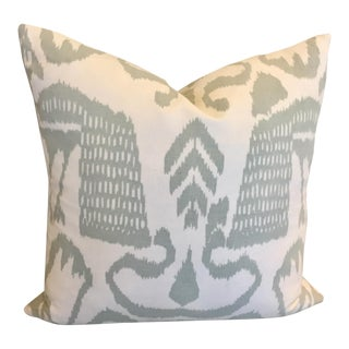 Accent Pillow in Seafoam Bali Isle by Quadrille Fabrics