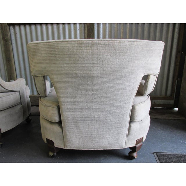 Billy Haines Style Vintage Lounge Chairs - A Pair - Image 7 of 10