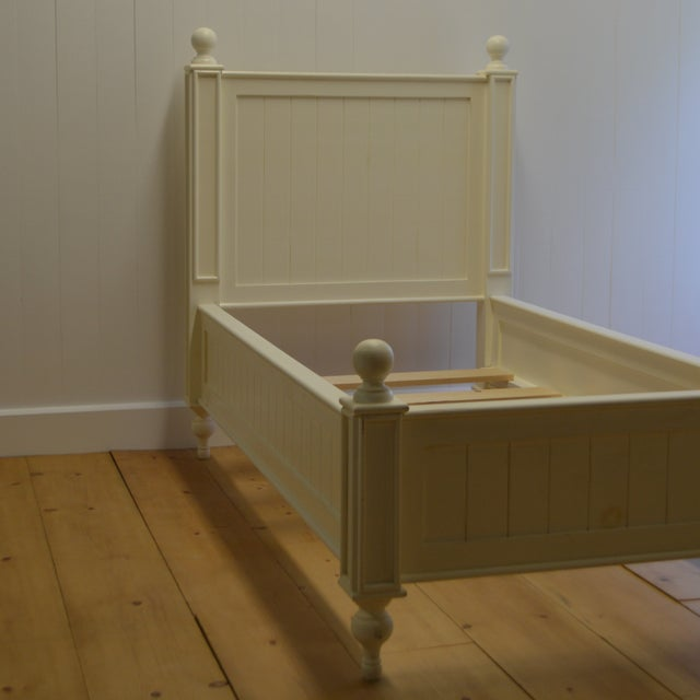 Image of Farmhouse Style Beadboard Bed