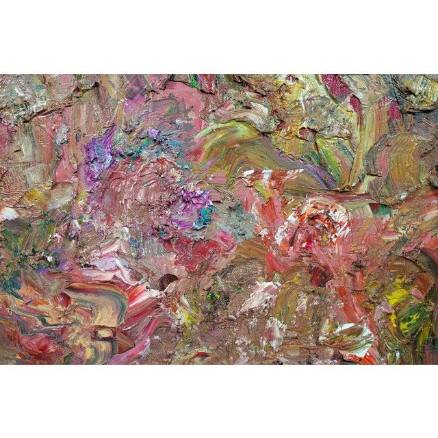 """Garden"" Original Painting - Image 3 of 4"