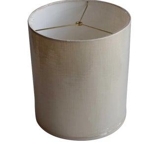 Brand New Linen Drum Shade