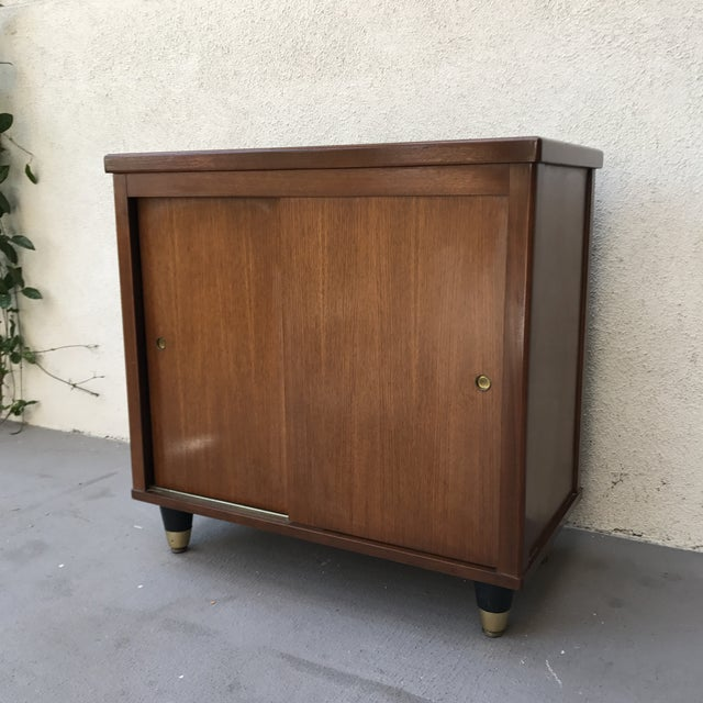 Mid-Century Walnut Sideboard - Image 7 of 9